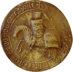 Sceau de Raimond-Roger Trencavel, 1247