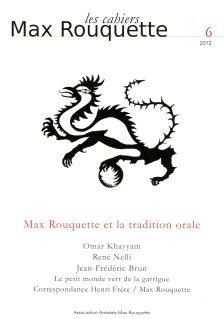 couverture Cahiers Max Rouquette 6