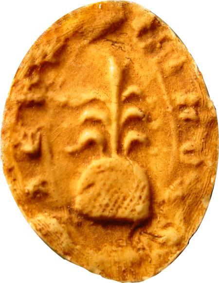Sceau de la communauté de Pennautier, 1303. Cliché Gauthier Langlois.
