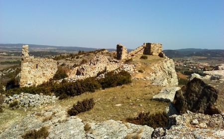 Le château de Montséret.