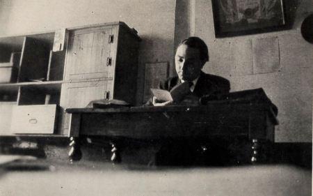 René Nelli, professeur de philosophie en 1936.