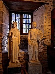 Adélaïde et le vicomte Roger II.