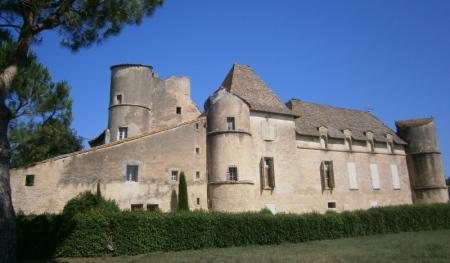 Le château de Perdiguier.