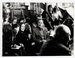 René Nelli, Michel Roquebert, Fanita de Pierrefeu à Montségur (Fonds René Nelli, ADA)