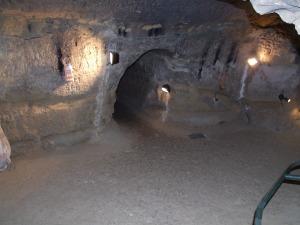 Le souterrain du Castella.