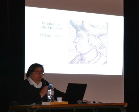 Conférence de Monique Dollin du Fresnel sur Clément V, 27 fév