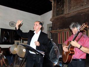 Franc Bardou et Gérard Zuchetto. Bouisse 2015.